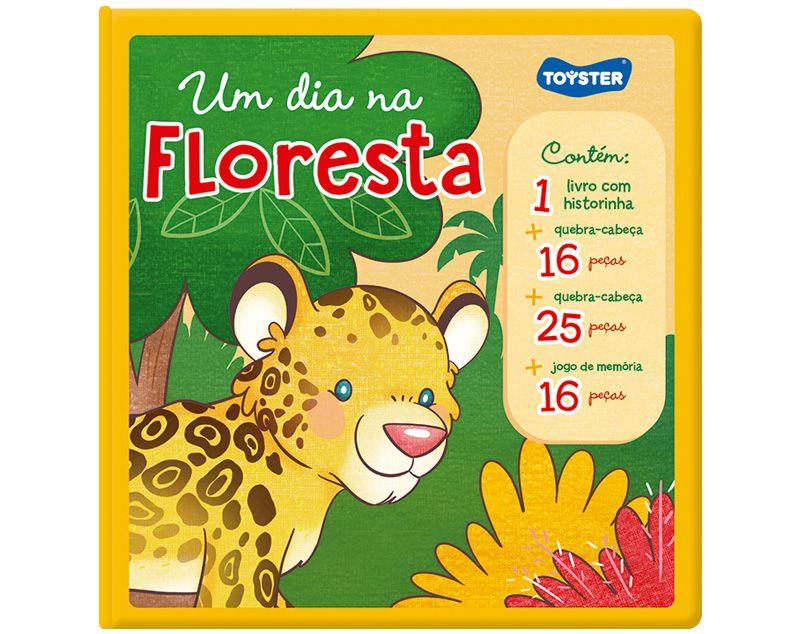 Livro Brinquedo - Um Dia na Floresta