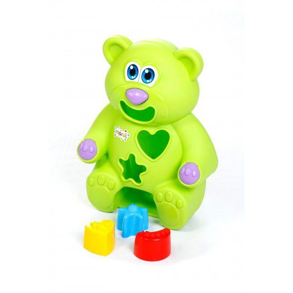 Urso Didático - Verde