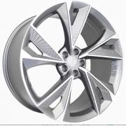 Jogo 4 Rodas GT7 Audi RS7 2020 Aro 20 Tala 8,5 furação 5x112 Et 42 Grafite com diamantado