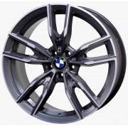 Jogo C/ 4 Rodas Raw MC/B30 BMW340I Aro20 tala 8,5 Furação 5x112 ET42 Grafite diamantado Fosco