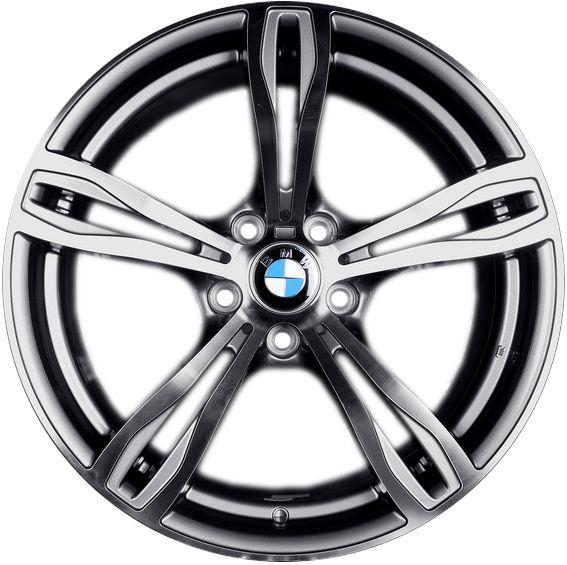 Jogo 4 rodas Presenza BMW PRZ941 aro 20 5x120 Grafite brilhoso c/ diamantado tala 8,5 ET32