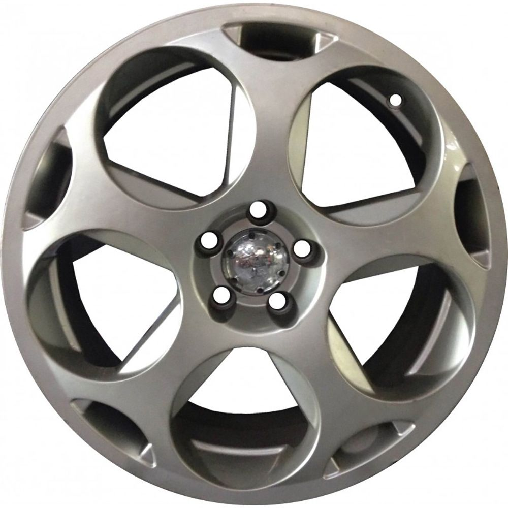 "Jogo com 4 rodas Sportiva LMB Lamborghini aro 18"" furacão 5X100 prata tala 8"