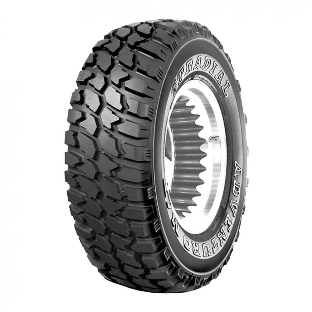 Jogo 4 Pneus GT Radial Aro 15 31x10.5R15 Adventuro MT 6 Lonas 109Q