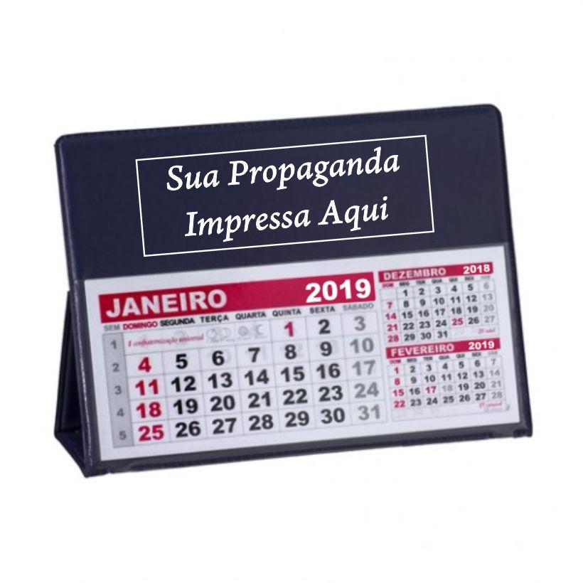 50 Calendários de mesa PVC  - BRASIL BRINDES