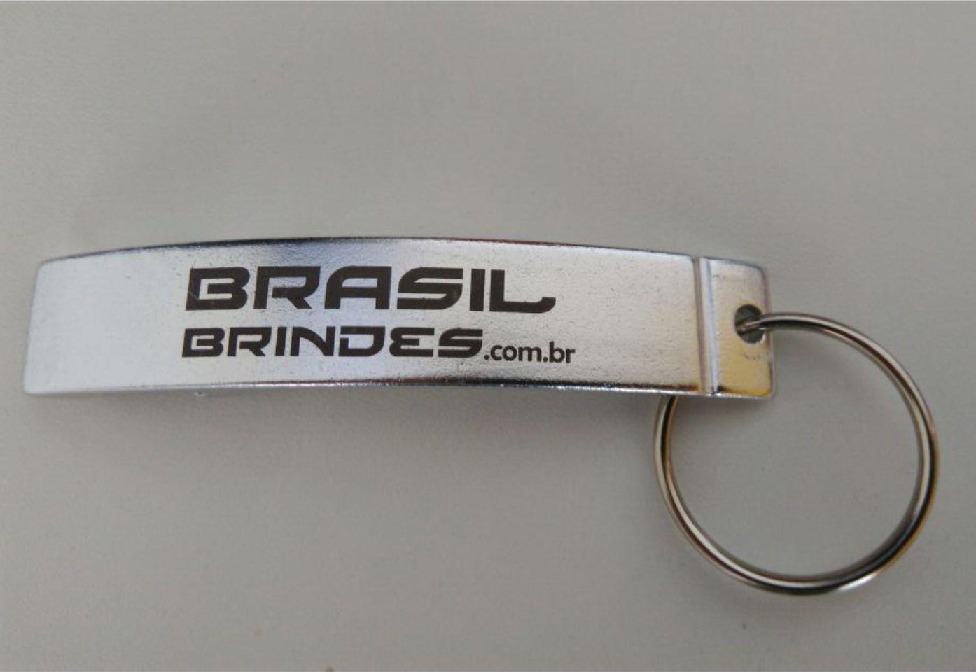 50 Chaveiros Abridor - Mod. 4267br  - BRASIL BRINDES