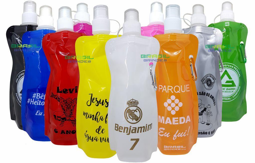 50 Squeezes personalizados   - BRASIL BRINDES