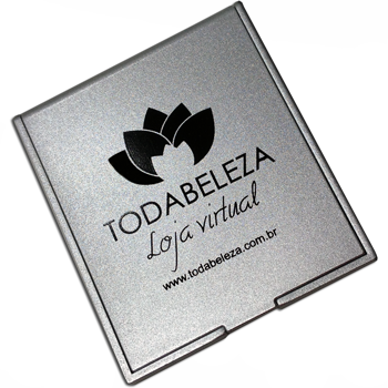 100 Espelhos de bolso mod. 250br  - BRASIL BRINDES