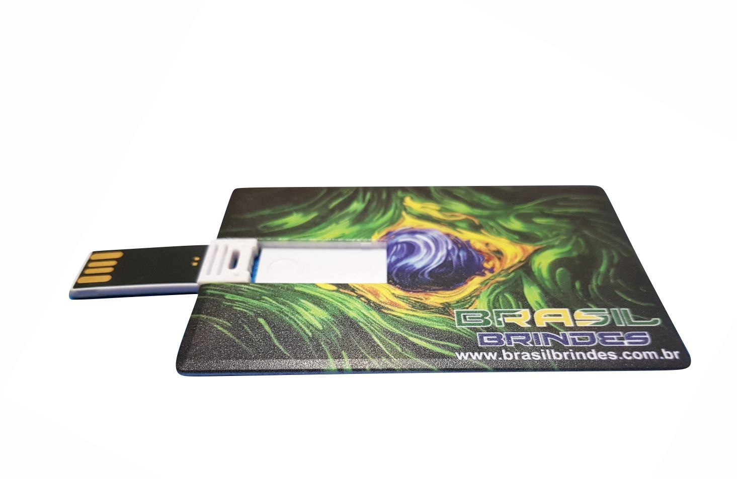 Pendrive Formato Cartão  - BRASIL BRINDES