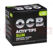 Activ Tips Slim - Filtro de Carvão Ativado