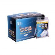 Caixa de Filtro OCB - Regular 7,5mm - 30 filtros