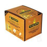Caixa de Piteira Wooden Tip Small - Yellow Finger
