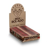 Caixa de Seda Bem Bolado - 1 1/4 Brown Large