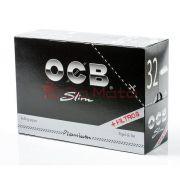 Caixa de Seda OCB Slim Premium + Filter