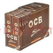 Caixa de Seda OCB Unbleached + Filter