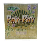 Caixa de Seda Pay-Pay King Size Slim Edição Especial