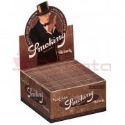 Caixa de Seda Smoking Brown