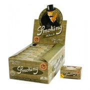 Caixa de Seda Smoking Organic Rolls