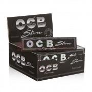 Caixa de Seda OCB Slim Premium Black