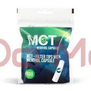 Filtro com Cápsula de Menta MCT  - 100 unidades