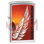 Isqueiro Zippo Harley Davidson asas