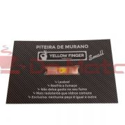Piteira de Vidro Yellow Finger -Small