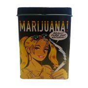 Porta Cigarro - Marijuana