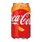 Refrigerante Importado - Coca Cola Orange Vanilla