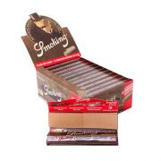 Caixa de Seda Smoking Brown c/ Piteira - King Size