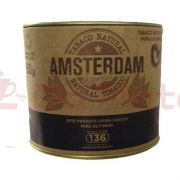 Tabaco Orgânico p/ Cachimbo Amsterdam - Lata