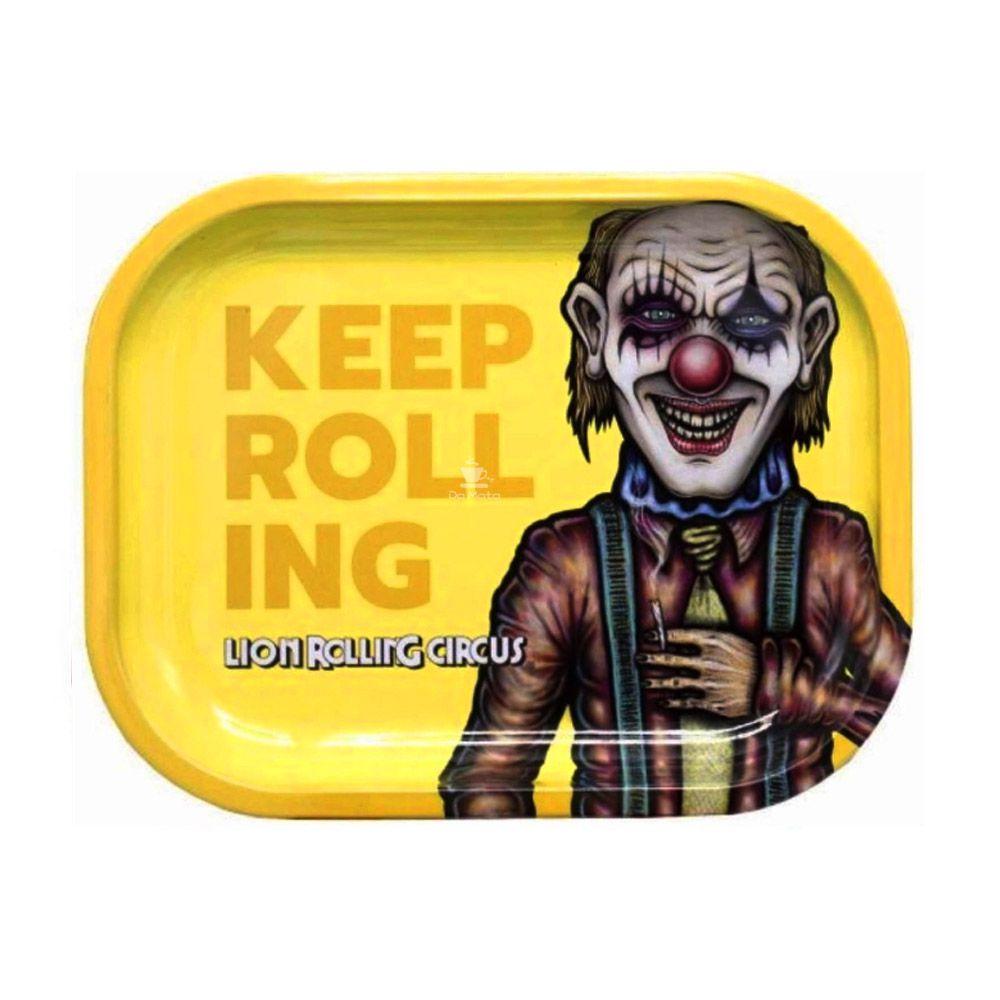 Bandeja Média Lion Rolling Circus Edgar Allan