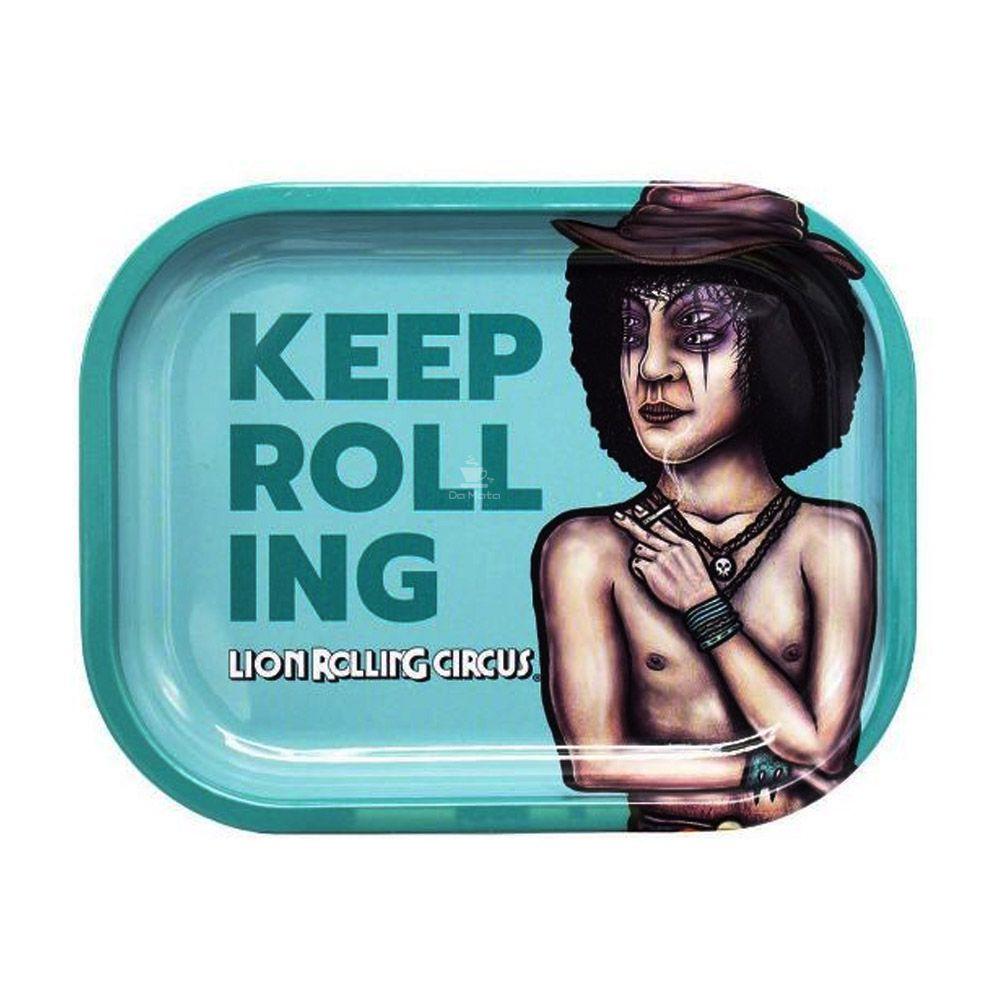 Bandeja Média Lion Rolling Circus Ruby