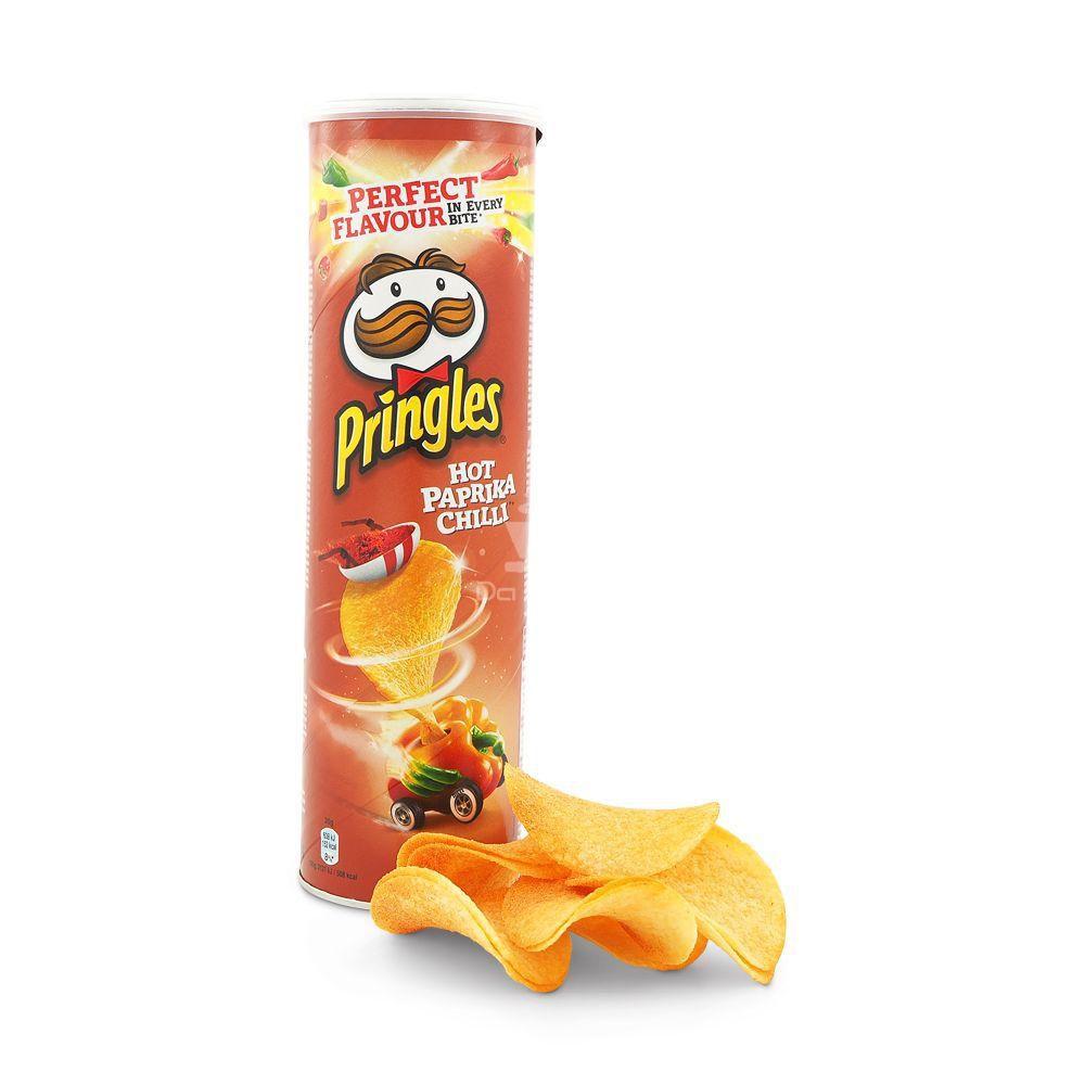 Batata Pringles  Hot Paprika Chilli