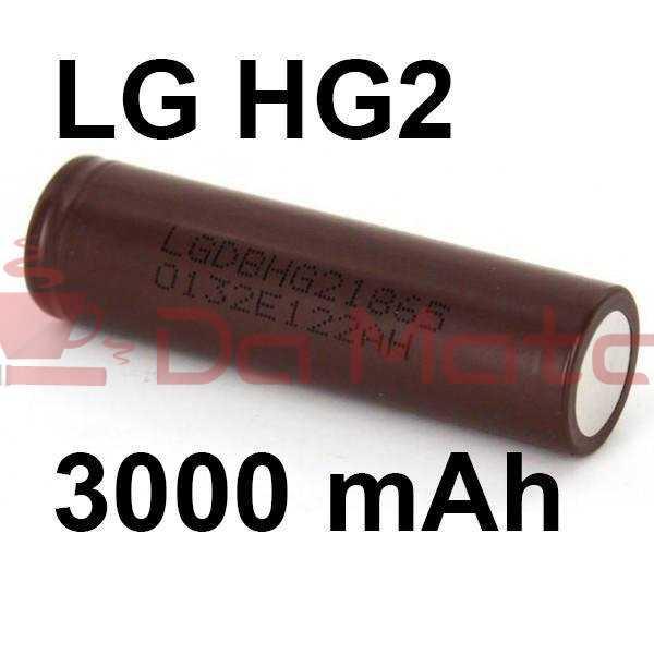 Bateria para Vaporizador LG 18650