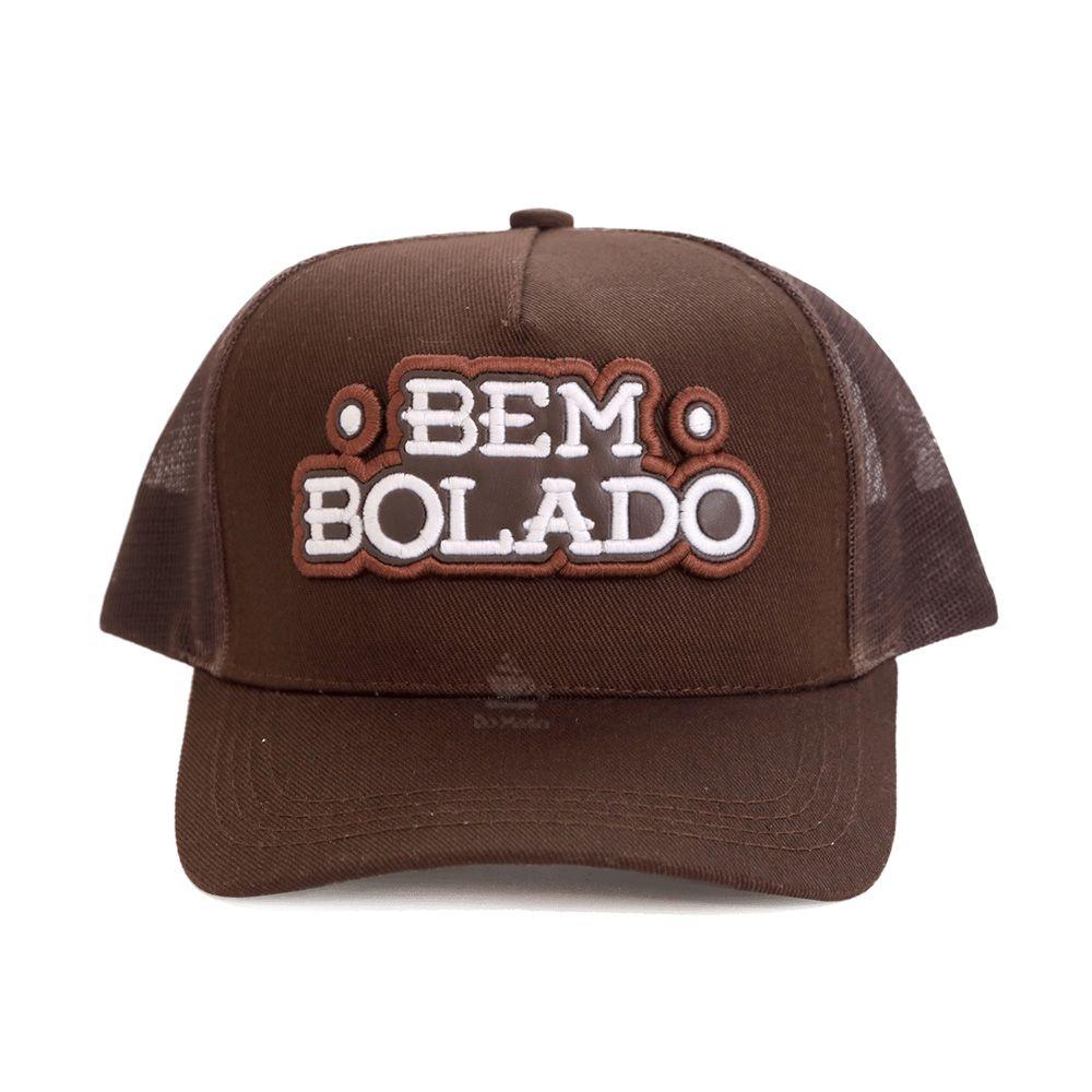 Boné Bem Bolado Brown c/ Tela