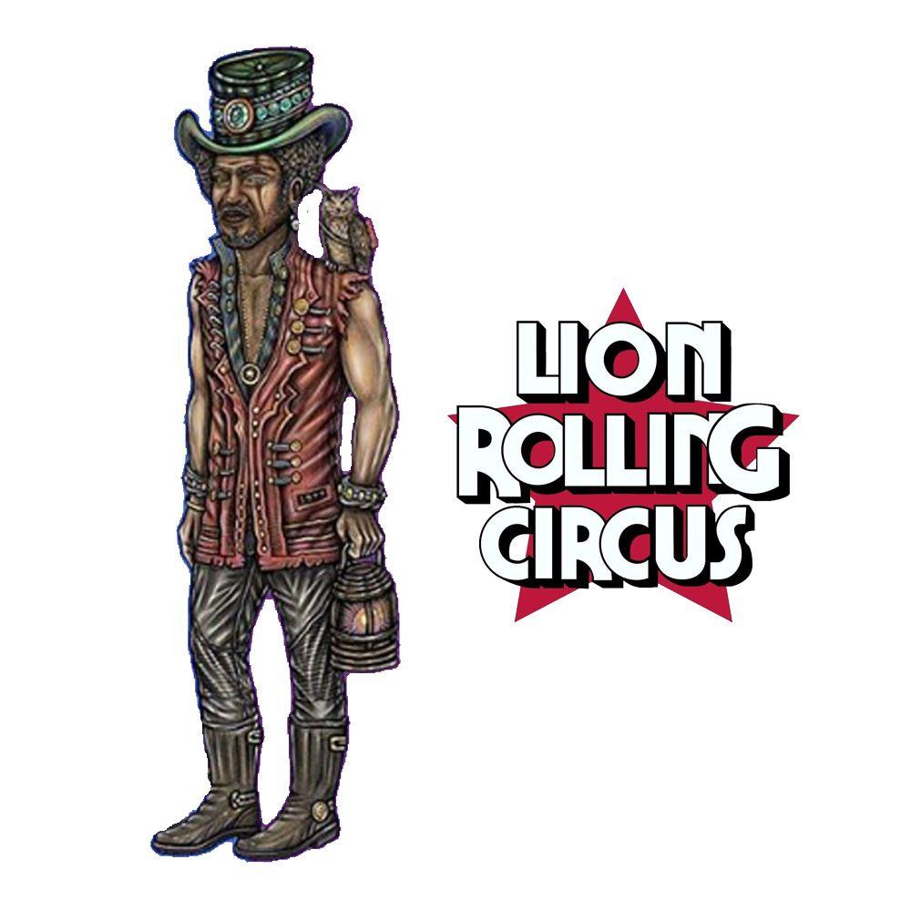 Boneco Lion Rolling Circus Mr. Trampoline