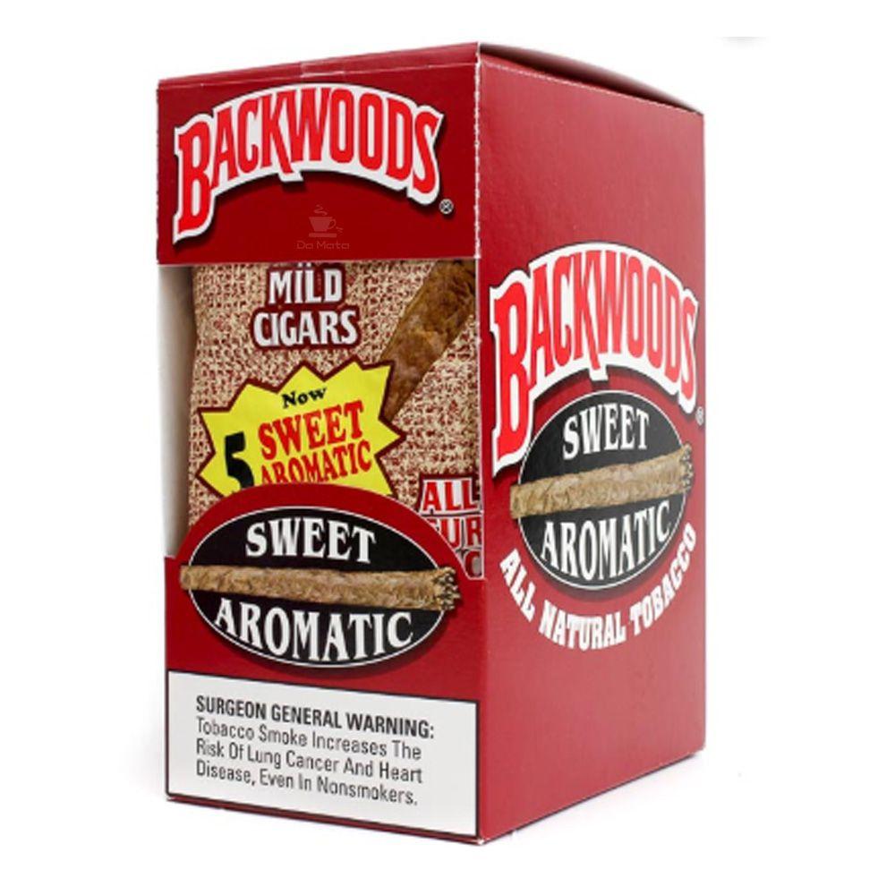 Caixa de Blunt Backwoods Aromatic