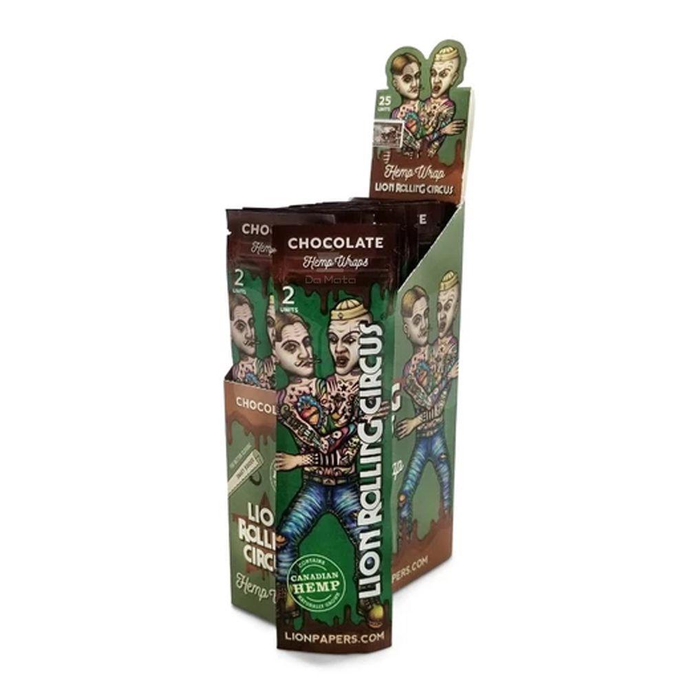 Caixa de Blunt Lion Rolling Circus Chocolate