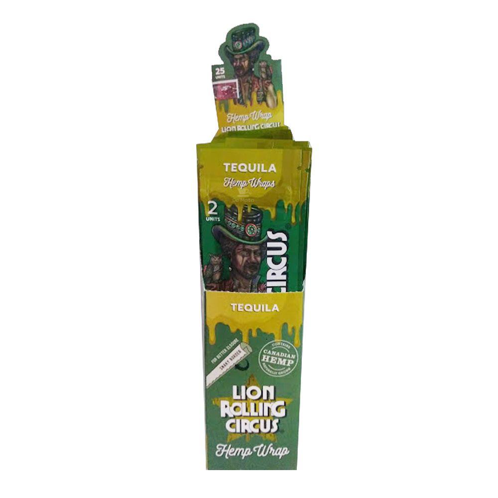 Caixa de Blunt Lion Rolling Circus Tequila