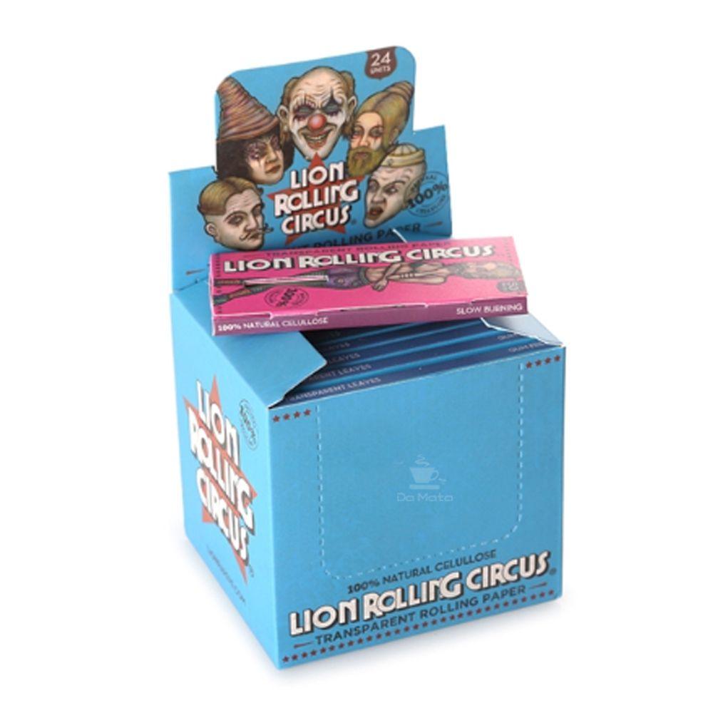 Caixa de Celulose Lion Rolling Circus 1 1/4