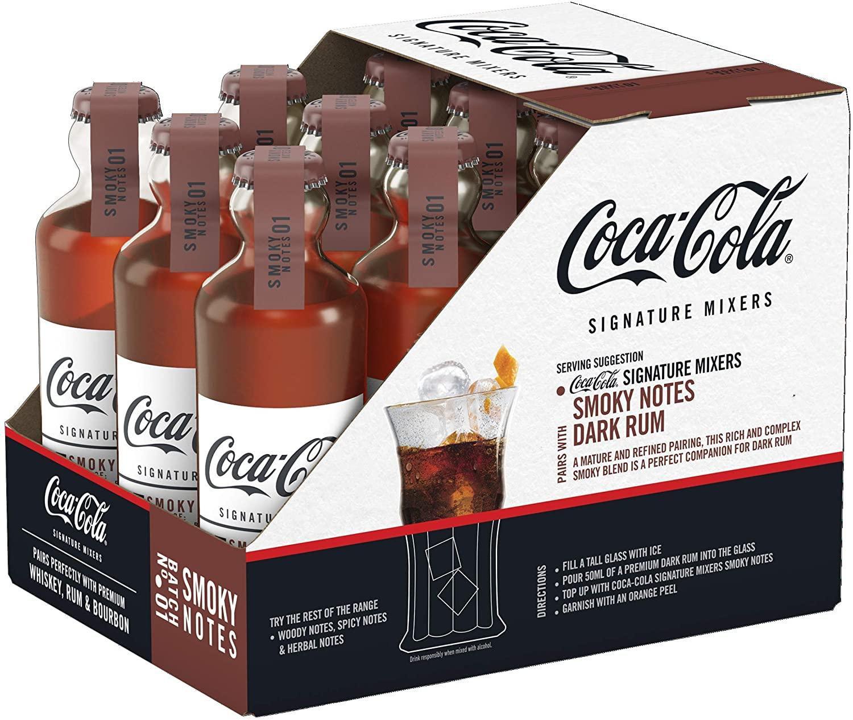 Caixa de Coca-Cola Signature Smoky Importado França