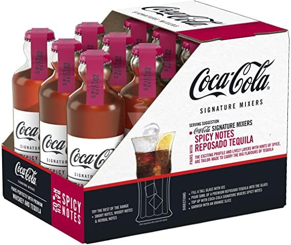 Caixa de Coca-Cola Signature Spicy Importado França