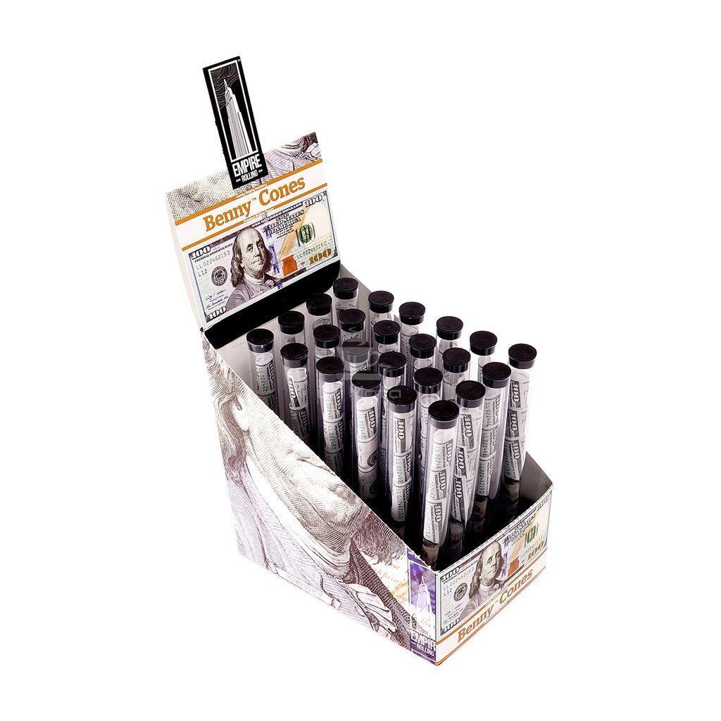 Caixa de Cones Dólars Benny Cones - 24 Unidades