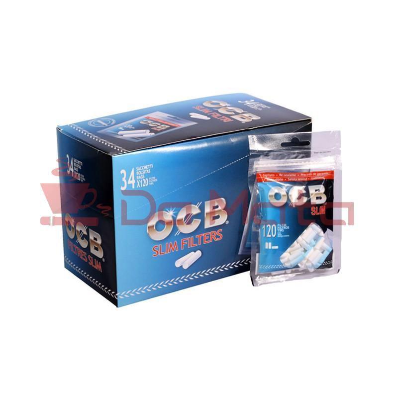 Caixa de Filtro OCB - 6mm - com 34 bags