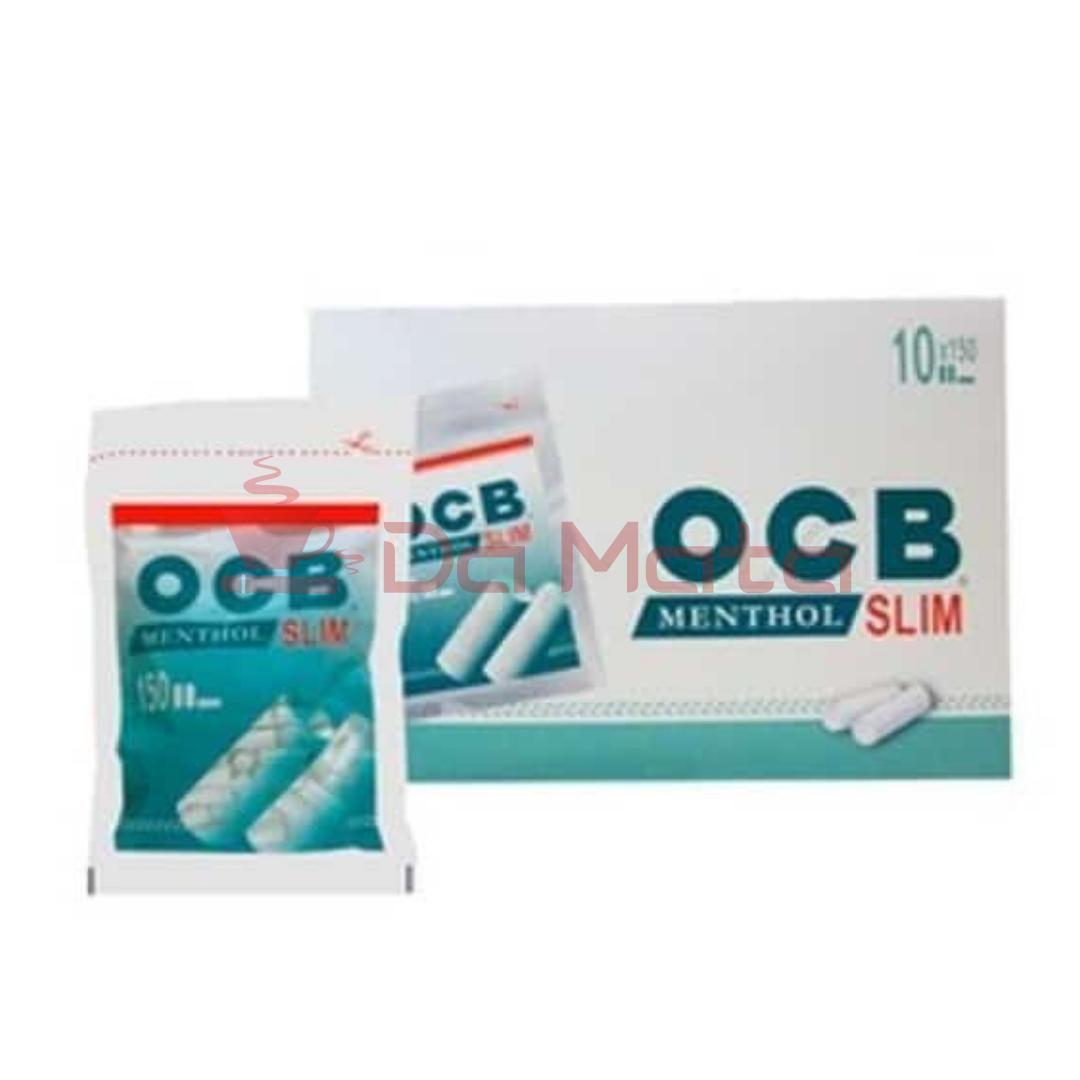 Caixa de filtro OCB Menthol