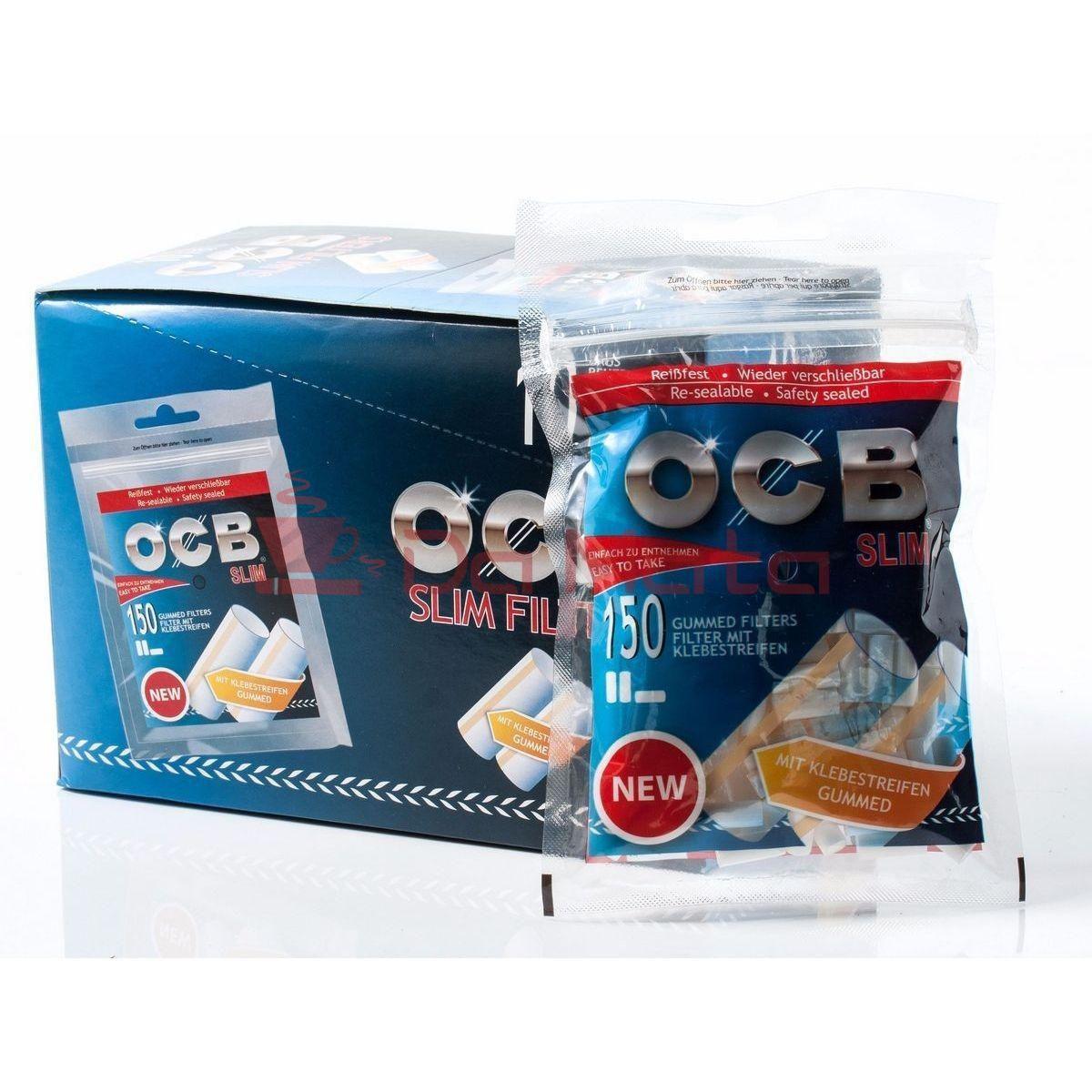 Caixa de Filtro OCB Slim C/ Goma Arábica