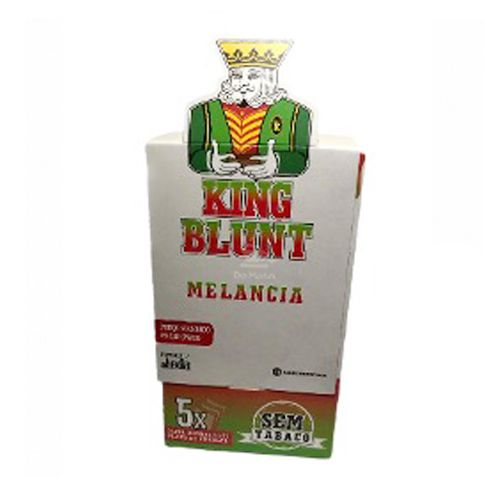 Caixa de King Blunt - Melancia, 25 envelopes, 125 blunts