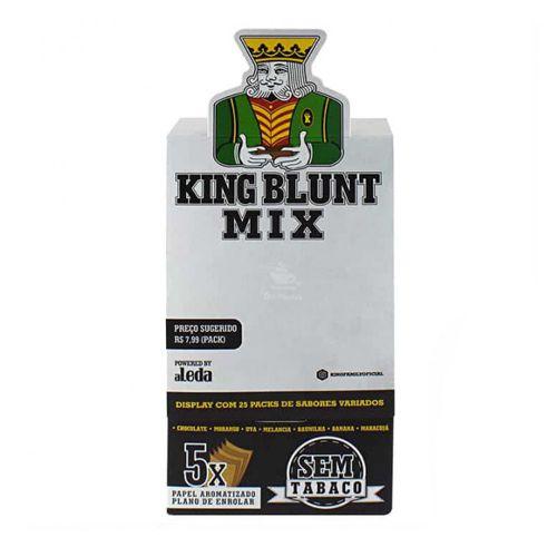 Caixa de King Blunt - Mix 7 sabores
