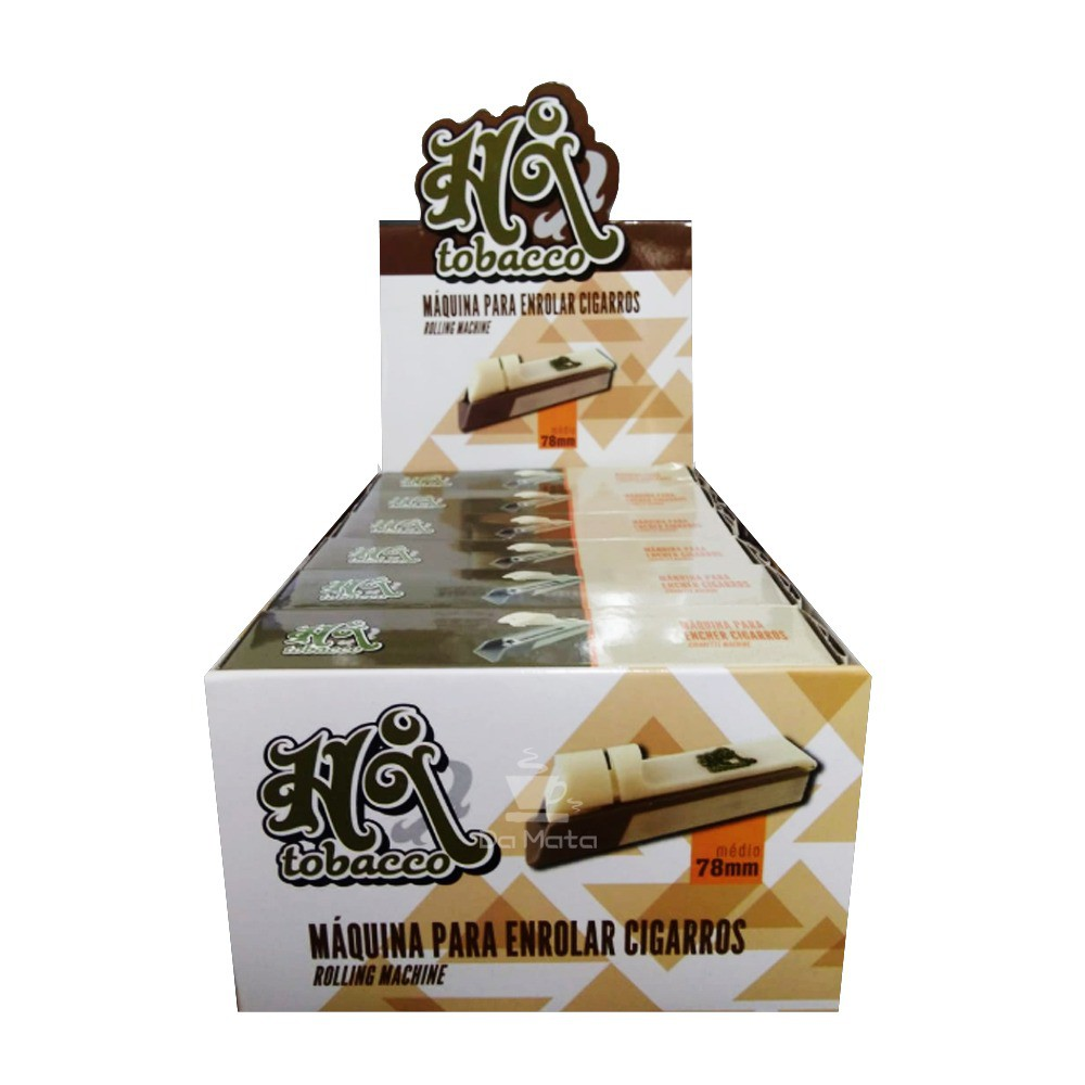 Caixa de Máquina para Tubos Hi Tobacco