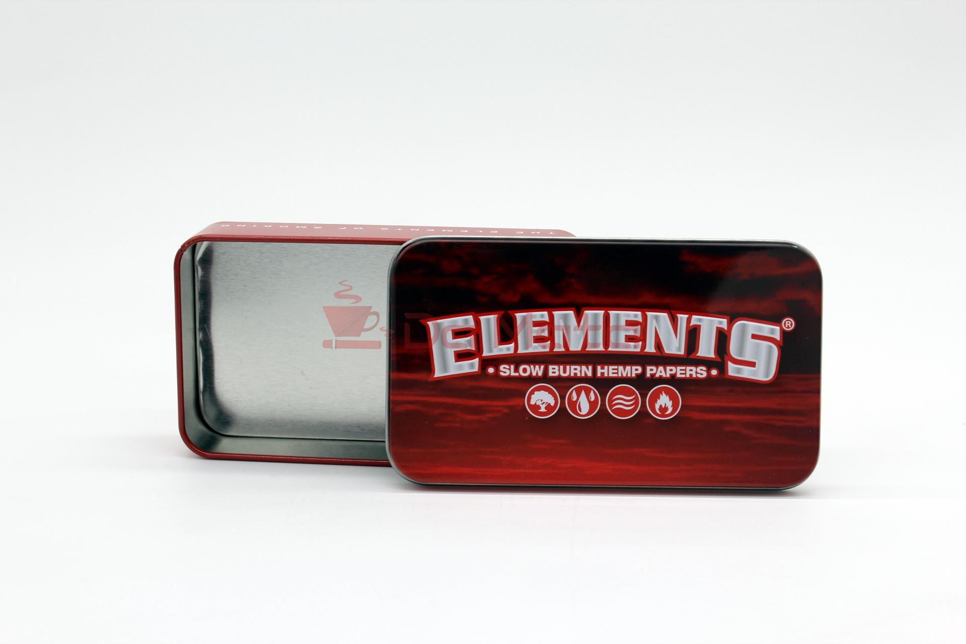 Caixa de Metal Elements - RED