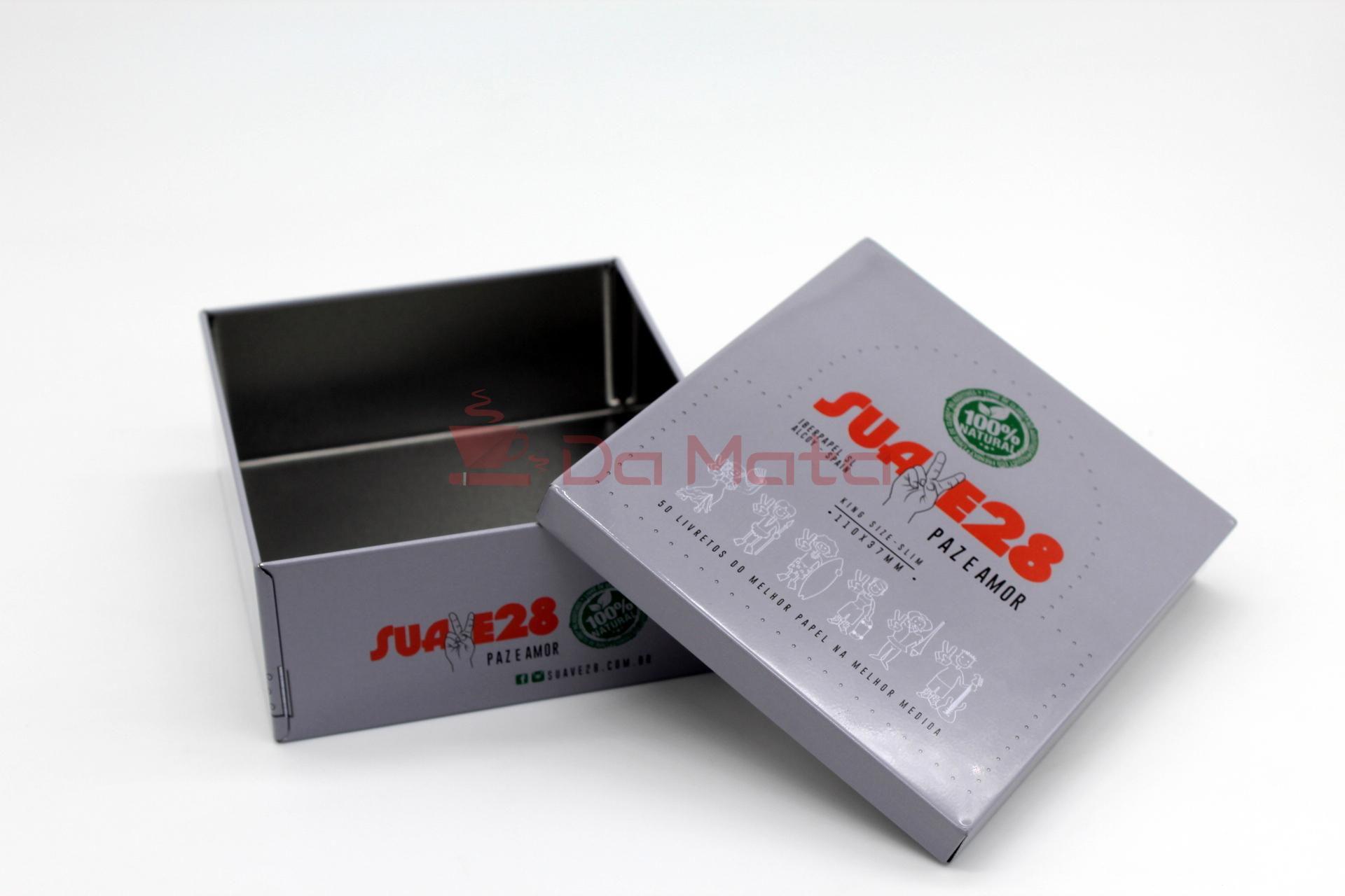 Caixa de Metal Suave 28